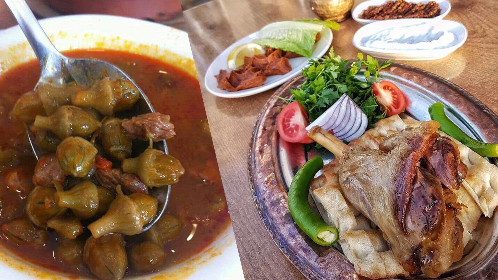 Konya Fırın Kebabı ve Bamya Çorbası
